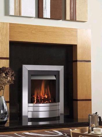 Verine NPSP00TN Pebble Midas Easy Flame Control Gas Fire