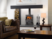 Dovre 250CBW Wood Burning Stove - Matte Black