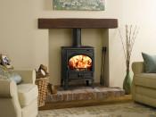 Dovre 425CBW Wood Burning Stove - Black Enamel