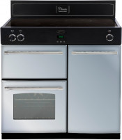 Belling Classic 900EI 90cm Induction Range Cooker- Silver Sky