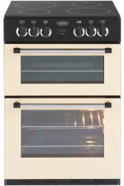 Belling Classic 60E Double Oven Electric Cooker - Cream