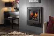Crystal Montana HE Hole In The Wall Gas Fire - Royale Trim