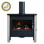 Esse 200 XK Contemporary DEFRA Approved Multifuel Stove - Stainless Steel Legs