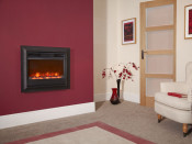 "Celsi Oxford 22"" Wall Mounted Electric Fire"