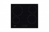Indesit VRB640CPT Ceramic Hob in Black