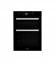 Indesit IDD6340BL Built In Electric Double Oven - Black