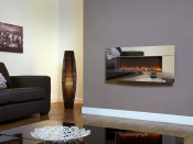 Celsi Flamonik Mirror LED Wall Mounted Electric Fire