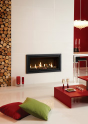 Gazco Studio 2 Glass Fronted Balanced Flue Gas Fire
