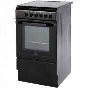 Indesit I5VSHK Single Oven Electric Cooker - Black