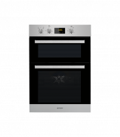 Indesit IDD6340IX Built In Electric Double Oven - Stainless Steel
