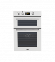 Indesit IDD6340WH Built In Electric Double Oven - White