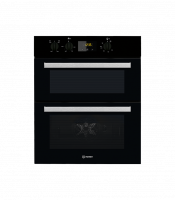Indesit IDU6340BL Built In Electric Double Oven - Black