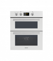 Indesit IDU6340WH Built In Electric Double Oven - White