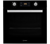 Indesit IFW6340BL Built In Single Electric Oven - Black
