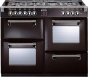Stoves Richmond 444442559 Dual Fuel Range Cooker- Black