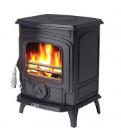 Aga Little Wenlock Multifuel Stove - Matte Black
