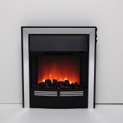 Be Modern 032883 Vitesse Inset LED Electric Fire - Chrome