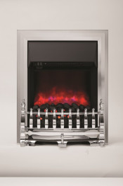 Be Modern 059285 Camberley Inset LED Electric Fire - Chrome