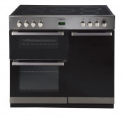 Belling 444442543 Stainless Steel DB490E Range Cooker with 90CHIM Chimney Hood