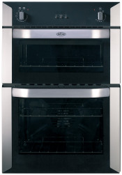 Belling BI90F Stainless Steel Integrated Electric Double Oven