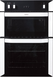 Belling BI90FP Double Built In Electric Oven - White