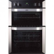 Belling BI90MF Electric Double Oven - Stainless Steel