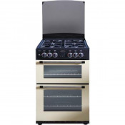 Belling Classic 60DF Double Oven Dual Fuel Cooker - Cream
