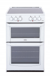 Belling Enfield E522 Double Oven Electric Cooker - White