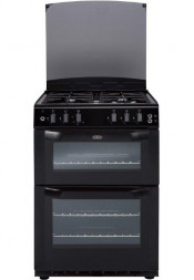 Belling FSG55TCF Gas Cooker Separate Grill - Black