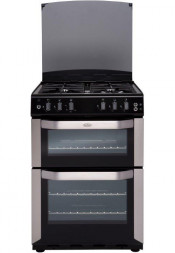 Belling FSG55TCF Gas Cooker Separate Grill - Stainless Steel