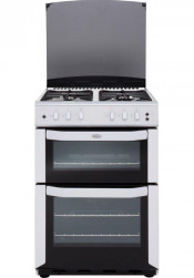 Belling FSG55TCF Gas Cooker Separate Grill - White