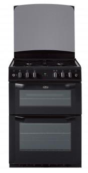 Belling FSG60DOP Double Oven Gas Cooker - Black