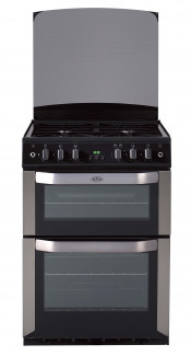 Belling FSG60DOP Double Oven Gas Cooker - Stainless Steel