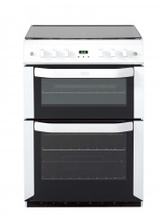 Belling FSG60DOP Double Oven Gas Cooker - White