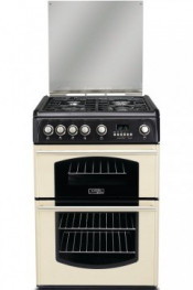 Cannon CH60GTCF Double Oven Gas Cooker - Cream