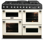 Cannon by Hotpoint CH10755GF S Freestanding Cooker - Cream