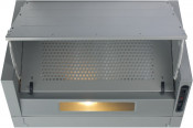 CDA EIN60FSI 60cm Integrated Cooker Hood - Silver
