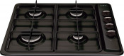 CDA HG6100BL 4 Burner Gas Hob - Black