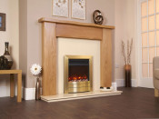 Celsi EF16D3RE Electriflame Essence Satin Brass 16 Inch Electric Fire