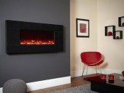 Celsi Basalt Electriflame 1100 Wall Mounted Electric Fire - Granite