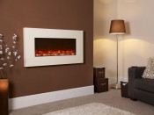 Celsi EFH13IVRE Electriflame Ivory 1300 Wall Mounted Electric Fire