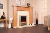 Celsi Electriflame XD Camber 16 Inch Electric Fire - Champagne Shelf Wear