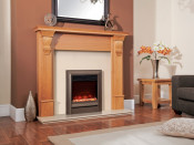 Celsi EFXDOBRE Electriflame 16 Inch XD Oxford - Hearth Mounted Brown