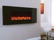 Celsi EFH11PBRE Electriflame Piano Black 1100 Wall Mounted Electric Fire