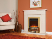 Celsi Electriflame Royale 16 Inch Electric Fire - Brass Shelf Wear