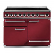Falcon F1092DXEICY/N-EU Induction Range Cooker - Cranberry/Nickel
