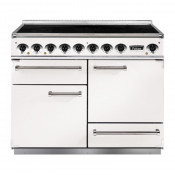 Falcon F1092DXEIWH/N-EU Induction Range Cooker - White Nickel