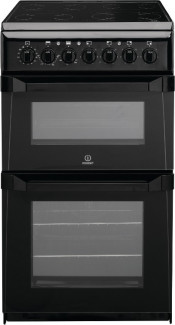 Indesit Advance ID50C1KS Black Freestanding 50cm Electric Cooker
