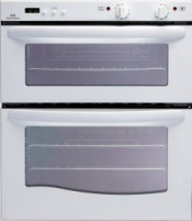 New World 444447288 White NW70DO 70CM Fanned Double Oven