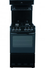 New World NW50THLG Gas Cooker with High Level Grill - Black